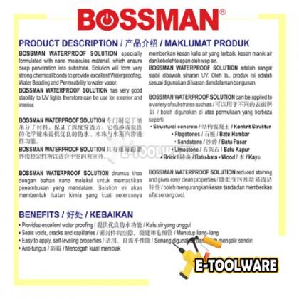 Bossman BWS400 Aerosol Water Proof Solution Spray Nano Spray Waterproof 400ml