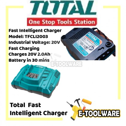 Total Fast Intelligent Charger - TFCLI2003