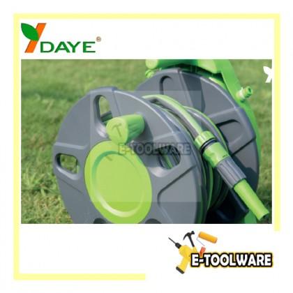 Daye DY62215B 15M Hose Reel Set Free Standing & Wall Mounted