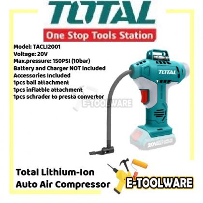 Total Lithium-Ion Auto Air Compressor - TACLI2001