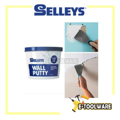 Selleys Wall Putty Filler 500g for Wall Crack Gap Wall Putty Plaster Rock Partition White