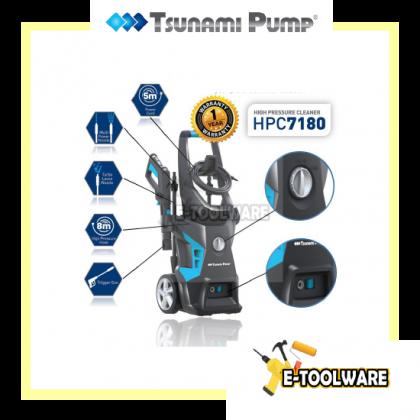 Tsunami HPC7180 High Pressure Cleaner (2200w/170bar)