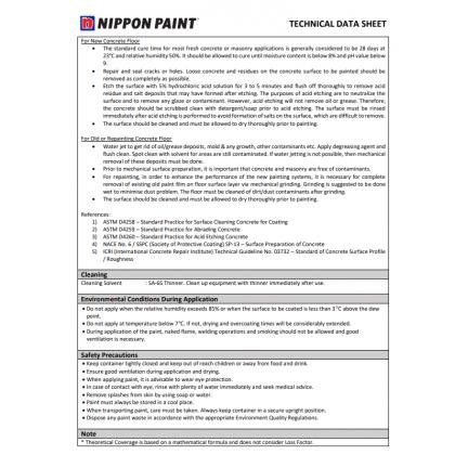 5L Nippon EA4 Epoxy Finish HB c/w Hardener (Part 1)
