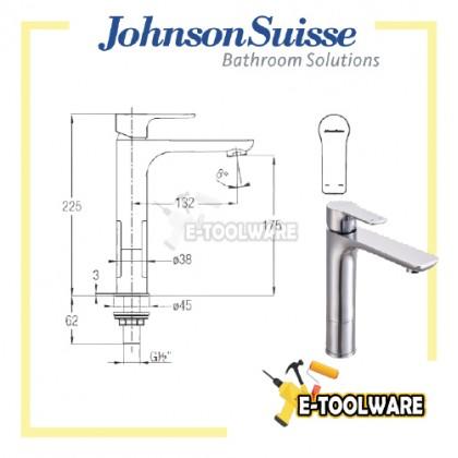 Johnson Suisse Trento 1/2'' Mezzo Plus Basin Tap - WBFA301350CP